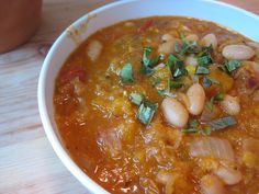 Stewed Navy Beans recipe from Jacques Pepin
