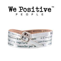 We Positive VASCO Bracciale siamo solo noi my423