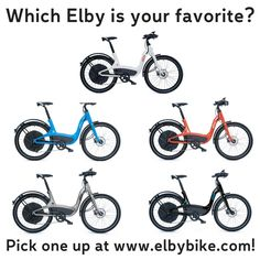 Which Elby is your favorite? Bike are now available to purchase at elbybike.com! #ElbyBike #eBike #ElectricBike