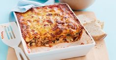 It's up to you – freeze the whole lasagne or slice it up and freeze individual portions that you can take out for an easy dinner or lunch.
