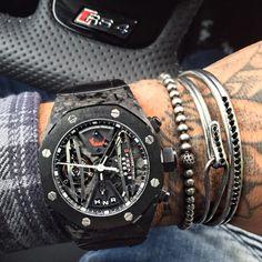 Audemars Piguet carbon concept Timepiece.