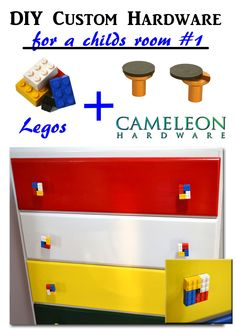 custom Lego Knobs