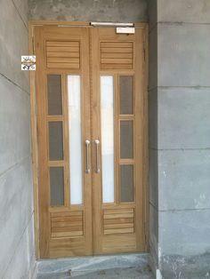 Flush Door Design, Door Gate Design, Door Design Interior, Entrance Design, Window Design, Wooden Front Door Design, Double Door Design, Wooden Doors, Door Design Photos