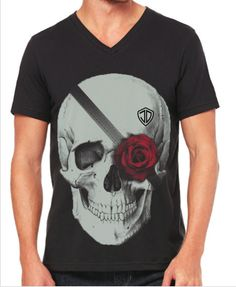 Rosa Morta V-Neck by Just Daddy