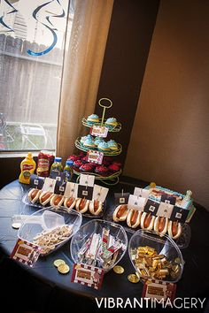 Pirates Birthday Party Food Table for Boys Birthday Party