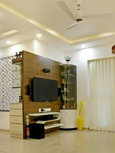 Most Design Ideas Modern Tv Unit Decoration Ideas 2019 Pictures, And Inspiration – Modern House Living Room Partition, Room Partition Designs, Wall Partition, Tv Cabinet Design, Tv Wall Design, Lcd Unit Design, Tv Unit Furniture Design, Minimal House Design, Pine Bedroom Furniture
