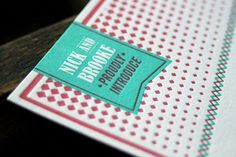 Oh So Beautiful Paper: Graham's Modern Letterpress Baby Announcements