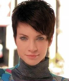 Attractive Appearance Of Short Cropped Hairstyles: Cropped Hairstyle With Longer Side Swept Fringe Hipsterwall ~ frauenfrisur.com Hipster Style Inspiration