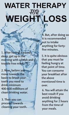 How does water therapy for weight loss work? This article gives you all the information on the how's, when's, where's and what's.