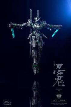 "Custom Build: MG 1/100 Gundam AGE-1 Spallow ""NINJA GUNDAM"" [GBWC 2016 Malaysia Entry] - Gundam Kits Collection News and Reviews"