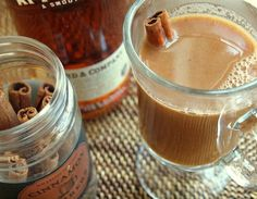 Hot Buttered Apple Cider with Rum....@Nicole Paige - I want to make for Saturday  night!