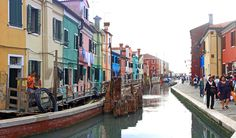 Fondamenta di Canavalla, canal de Burano (lagune de Venise) - Blog Voyage Trace Ta Route