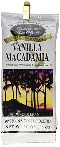 Vanilla Macadamia Nut 10oz Whole Bean Coffee ** Insider's special review you can't miss. Read more : at Coffee Beans.