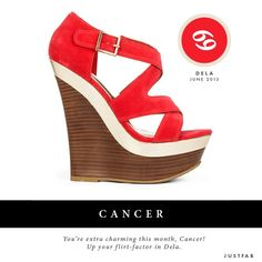 JustFab Style-Scope: Cancer check out your June 2013 Fashion Horoscope!