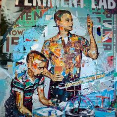 Collage Kunst - Vrouwen.nl