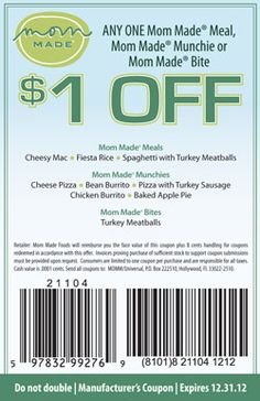 $1 Off Any Mom Made Product Coupon | Bargain Hound Daily Deals
