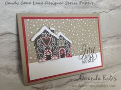 The Craft Spa - Stampin' Up! UK independent demonstrator : Introducing.... Candy Cane Lane Suite