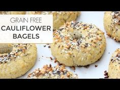 Yes. You read that right. A bagel made from cauliflower. What the what? Who knew?! So, let's start with WHY? Why in the world would anyone want to make a bagel out of cauliflower? In my opinion, it's one of two reasons. You are either on some type of eating plan that eliminates grains and …