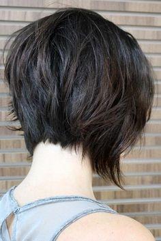 Flirty Short Hairstyles for Fine Hair ★ See more: http://lovehairstyles.com/flirty-short-hairstyles-for-fine-hair/