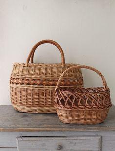 [Envelope Online Shop] Latvian willow basket Lisette
