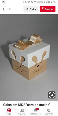 Caja de cartón lino Pack 30,5 x 30,5 cm-Yvonne Creations-a invierno 25