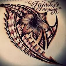 "Samoan tattoo ""family is forever"""