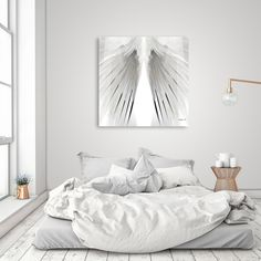 Discover «GEOMETRIC BIRD WING V.2», Limited Edition Canvas Print by SIMON HOWARD - From $59 - Curioos