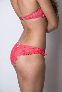 Bandeau Floral Print Trikini Sexy Swimsuit Woman by GiuliaGaruti