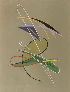 1955 - Domela, Cesar - Composition,