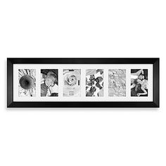 Showcase your loved ones and favorite memories with this chic matted black picture frame. This frame is a perfect way to add an artistic touch to your home's décor.
