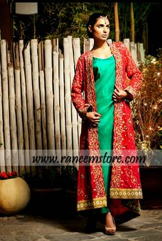 Design HER1239, Product code: HER1239, Latest EID Shalwar Kameez Collection, Pakistani Casual Dresses for EID 2013