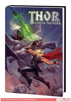 Thor: God of Thunder Vol. 3: The Accursed - The story reaches it's fantastic conclusion here