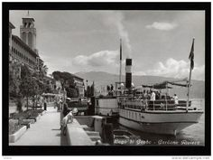 Grand Hotel Gardone vintage postcard #lagodigarda #historichotel #lakegarda