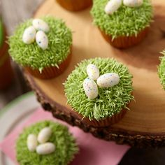 Speckled Egg Cupcakes for Easter