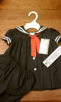 Sailor Suit Dress 9 mo  CI Castro  never worn by TwirlingDaisy