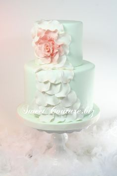 Gâteaux de mariage Shabby chic Wedding Cakes