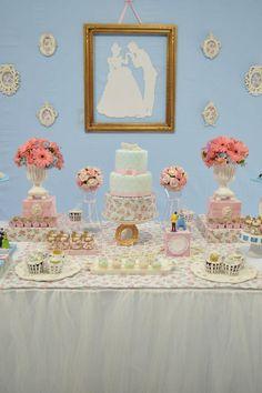 mesa festa infantil da cinderela