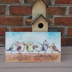 Sizzix Blog - by Mou Saha - Bird Crazy Home Decor.....