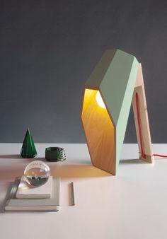 WOODSPOT design: Alessandro Zambelli specifications Lampada da tavolo Table lamp