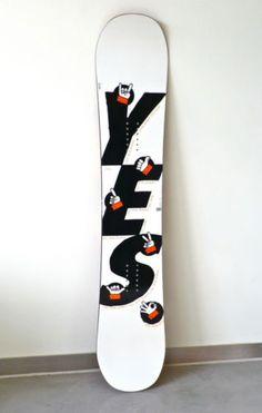 Yes Handsign Snowboard 147 cm Snowboard - (31) Hand Sign 2011