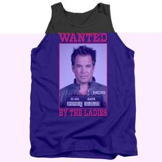 "Checkout our #LicensedGear products FREE SHIPPING + 10% OFF Coupon Code ""Official"" Ncis / Wanted - Adult Tank - Ncis / Wanted - Adult Tank - Price: $29.99. Buy now at https://officiallylicensedgear.com/ncis-wanted-adult-tank"