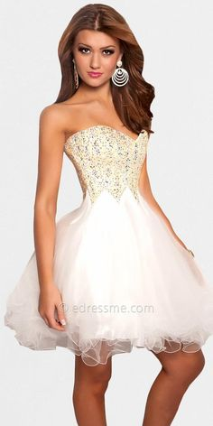 Gold and sparkles prom dress | PROM | Pinterest | Sparkle, Prom ...