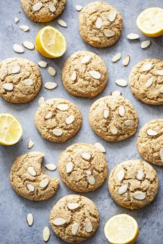 Paleo Dessert, Healthy Dessert Recipes, Cookie Recipes, Baking Recipes, Chocolate Mint Cookies, Almond Cookies, Mint Chocolate Chips, Sugar Cookies, Easy Vegan Cookies