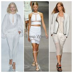 Sure, white is one of those noncolors that never really goes out of style, but this latest crop of minimalist white pieces gives us even more reason to wear it head to toe. Breezy white blouses, structural LWDs, crisp leather toppers, and everything in between — the Spring '13 white is one that really has infinite styling possibilities.