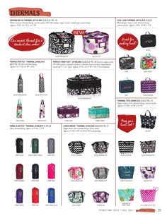 ISSUU - Thirty-One Catalog Fall 2014 by Thirty-One www.mythirtyone.com/linetteg