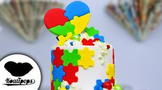 Autism Awareness Puzzle Cake | DIY & How To | Cakes for a Cause