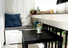 Balkon zero watse - pomysły diy Zero, Storage, Diy, Furniture, Home Decor, Balcony, Purse Storage, Decoration Home, Bricolage