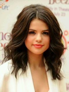 Selena gomez hair... If I ever cut my hair short again, this would be it...