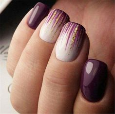 Nail art is a very popular trend these days and every woman you meet seems to have beautiful nails. It used to be that women would just go get a manicure or pedicure to get their nails trimmed and shaped with just a few coats of plain nail polish. Cute Summer Nail Designs, Cute Summer Nails, Summer Fun, Blue Nails, White Nails, Nail Deco, Nails Kylie Jenner, Special Nails, Summer Nails