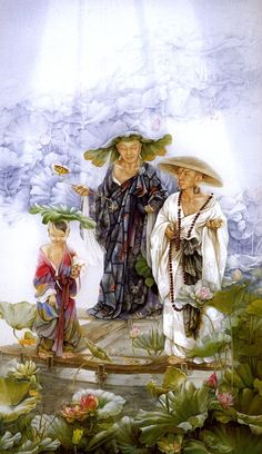 Ji Shuwen. Taoist immortals and buddhas.